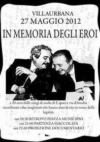 IN MEMORIA DEGLI EROI - Falcone e Borsellino